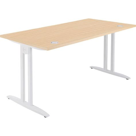 bureau classique bureau idol rectangulaire 120 cm personnalisable pieds en i