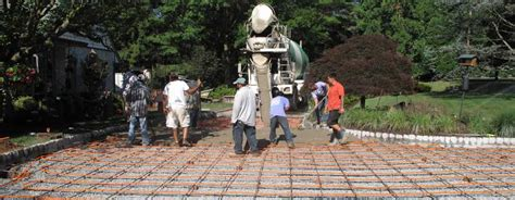 4 tips to build concrete patio maple concrete pumping