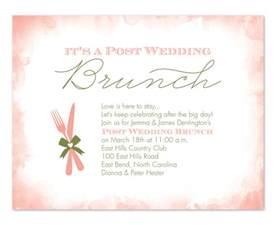 post wedding brunch invitations post wedding brunch invitations by invitation consultants ic rlp 1167