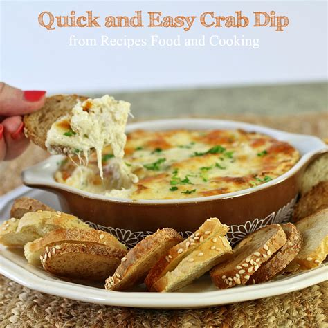 crab dip recipe easy and quick crab dip recipes food and cooking