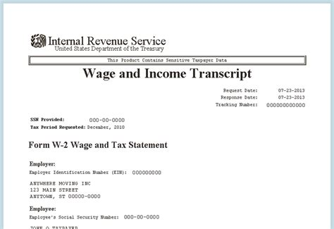 irs income tax irs income tax transcript
