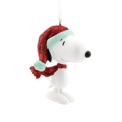 peanuts by schulz snoopy christmas ornament seasonal