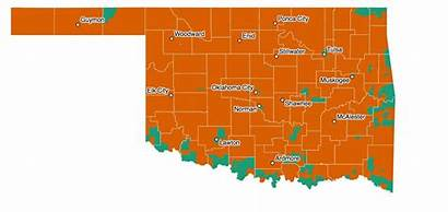 Oklahoma Election Map Sucks Learned Night Things