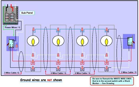 3 way light 3 way switch wiring diagram with multiple lights