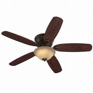 Harbor breeze ceiling fan with light and remote : Harbor breeze pawtucket in oil rubbed bronze flush