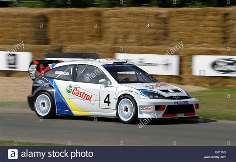 2003 Ford Focus Wrc At Goodwood Festival Of Speed, Sussex