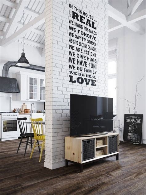 Chic Scandinavian Studio With Lofted Bed by Chic Scandinavian Studio With Lofted Bed Interior Mini