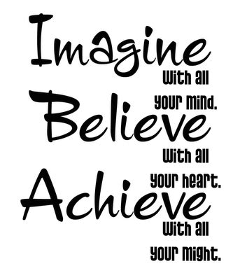 believe in yourself to bring change mediums world