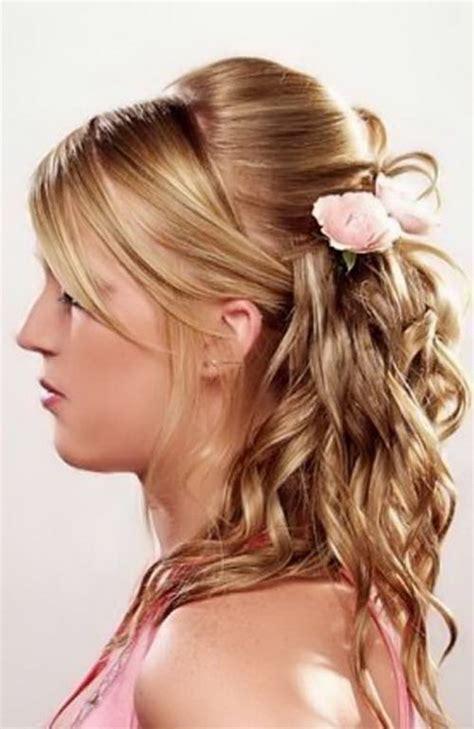 hairstyles  long hair tied