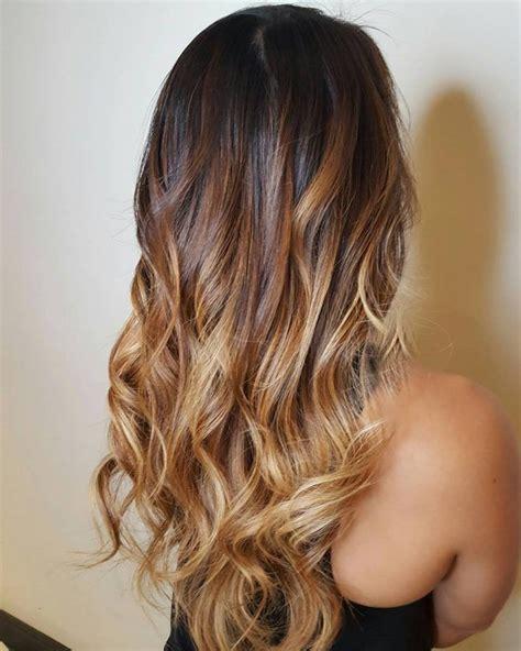 dark  light brown ombre hair inspiration ombre