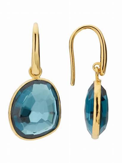 Earrings John Lewis Precious Stone Semi Drop