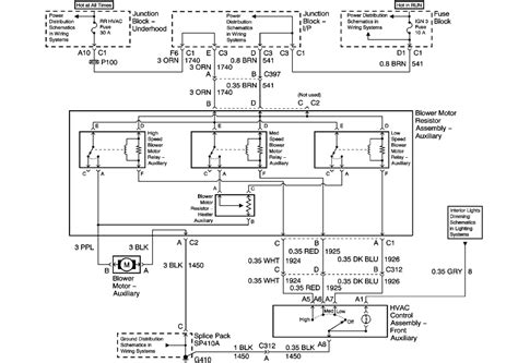 gmc  headlight wiring diagram auto electrical