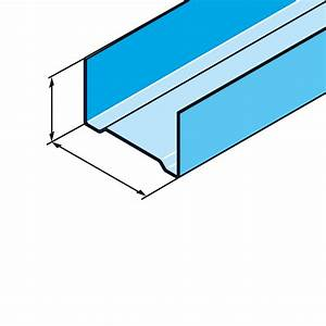 Couper Rail Placo : profil s rail stil r 48 300 bot10l les mat riaux ~ Melissatoandfro.com Idées de Décoration