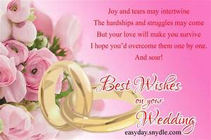 top wedding wishes and messages easyday With wedding cards messages for sister