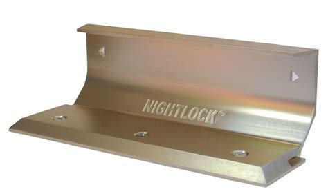 nightlock door barricade door barricade brace the nightlock security lock brushed