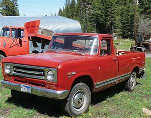 1969 International 1200 4x4 Pickup
