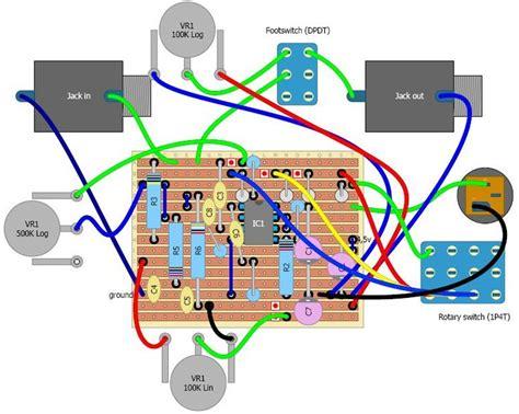 Ab Pedal Diagram by Guitar Projects R 233 Alisation D Une P 233 Dale De