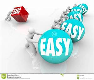 Easy Vs Hard Competing Underdog Overcoming Difficulty ...