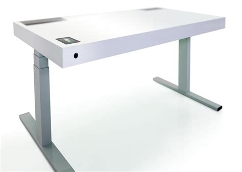 ikea sit and stand desk this smart desk knows when you want to sit or stand wired
