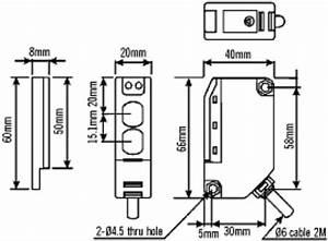 Apc Retro Reflective Ptohocell Photoelectric Beam Sensor