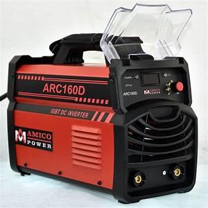 160 Amp Stick Arc Dc Inverter Welder 115  230 Dual Voltage