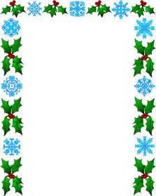 Free Word Document Christmas Border