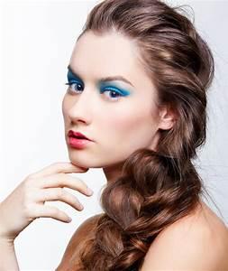 Augen Make Up In Trkis Blaue Augen Schminken