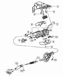 Ram 1500 Shaft  Steering Column Intermediate  Upper