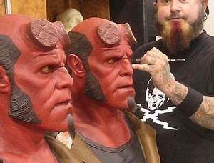 Painting Hellboy | Red | Pinterest | Galleries and Paintings