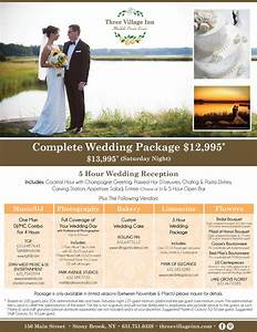 lessing39s a tradition of excellence With wedding package names