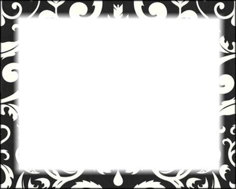 cadre noir et blanc montage photo cadre noir blanc feuille pixiz