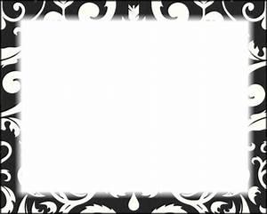 Cadre Noir Et Blanc : montage photo cadre noir blanc feuille pixiz ~ Teatrodelosmanantiales.com Idées de Décoration