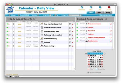 Filemaker Calendar Template Gallery Template Design Free Download