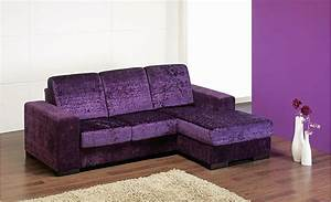 Sofa chaise with chaise lounge sofa beds and corner for Purple sectional sofa chaise