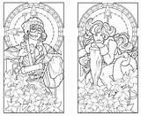Coloring Nouveau Pages Deco Printable Adults Adult York Colouring Steampunk Patterns Skyline Twins 1920s Minnesota Books Butterfly Ayla Lucca Deviantart sketch template