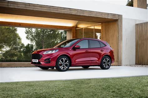 ford kuga revealed  range  electrified