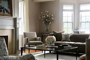 Gray and brown living room with glass coffee table for Gray and brown living room