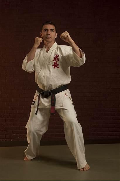 Stance Karate Fighting Shihan Seichou Spotlight