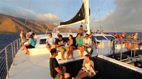Catamaran Dinner Cruise Maui by Maui Sunset Sail Youtube