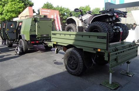 military trailer cer the german company geroh unveils a new family of military