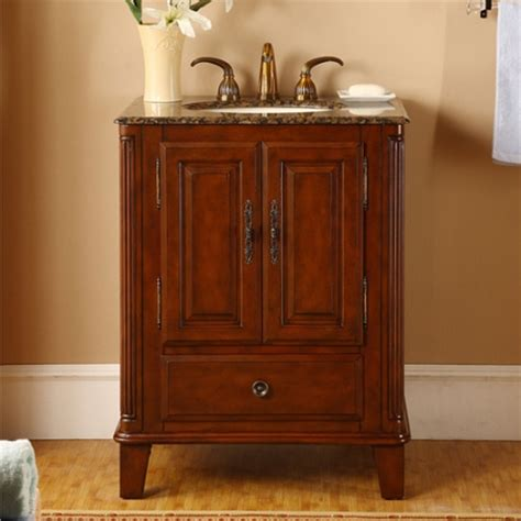 small single sink bathroom vanity  granite