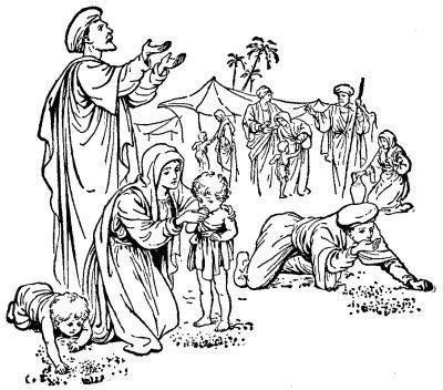 god fed   manna religionmythologybiblebible