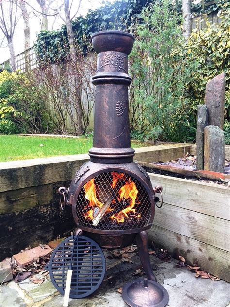 The Best Chiminea by Our Review Of The 5 Best Cast Iron Chimineas