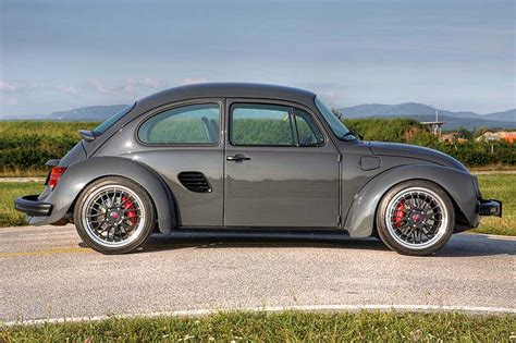 modified volkswagen beetle custom porsche boxster with vw bug body by siegfried