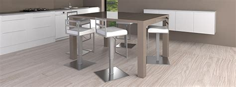 table cuisine pied central table haute îlot central mange debout mobilier moss