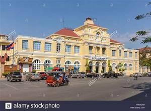 Cambodia, Phnom Penh province, Phnom Penh, Post office ...