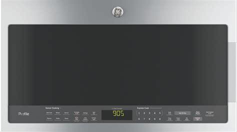 pvmsjss ge profile  cu ft   range sensor microwave stainless steel