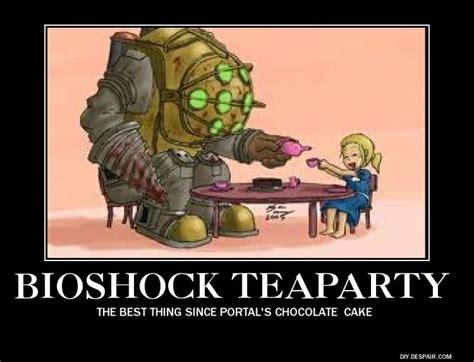Big Daddy Meme - bioshock tea party meme a geek s mind pinterest bioshock teas and tea parties