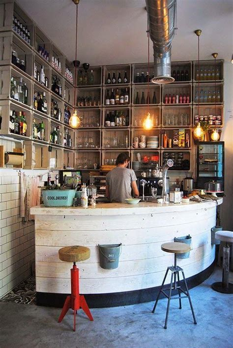 With three shelves to hold all your coffee items, you have the great thing about a coffee bar is that it can complement or contrast your existing décor. Building Corner Bar For Small Spaces   Home bar decor, Home bar designs, Bar decor