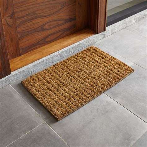 Photo Doormat by Knotted 30 Quot X18 Quot Jute Doormat Crate And Barrel